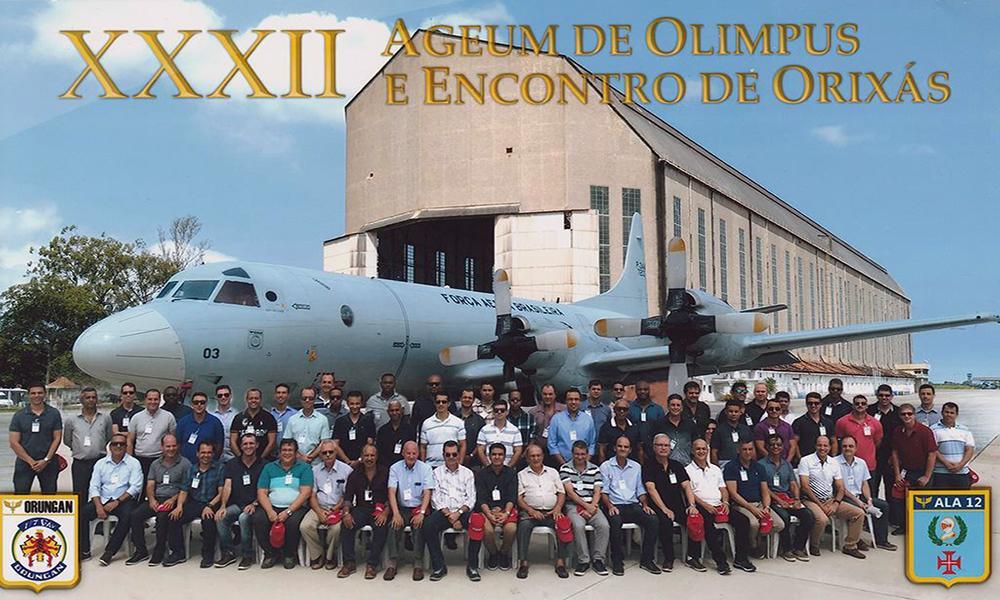 XXXII AGEUM DE OLIMPUS E ENCONTRO DOS ORIXÁS