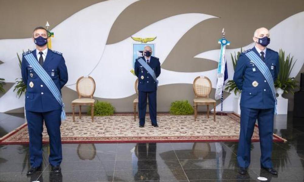 Cerimônia militar marca passagem de Chefia do Estado-Maior da Aeronáutica