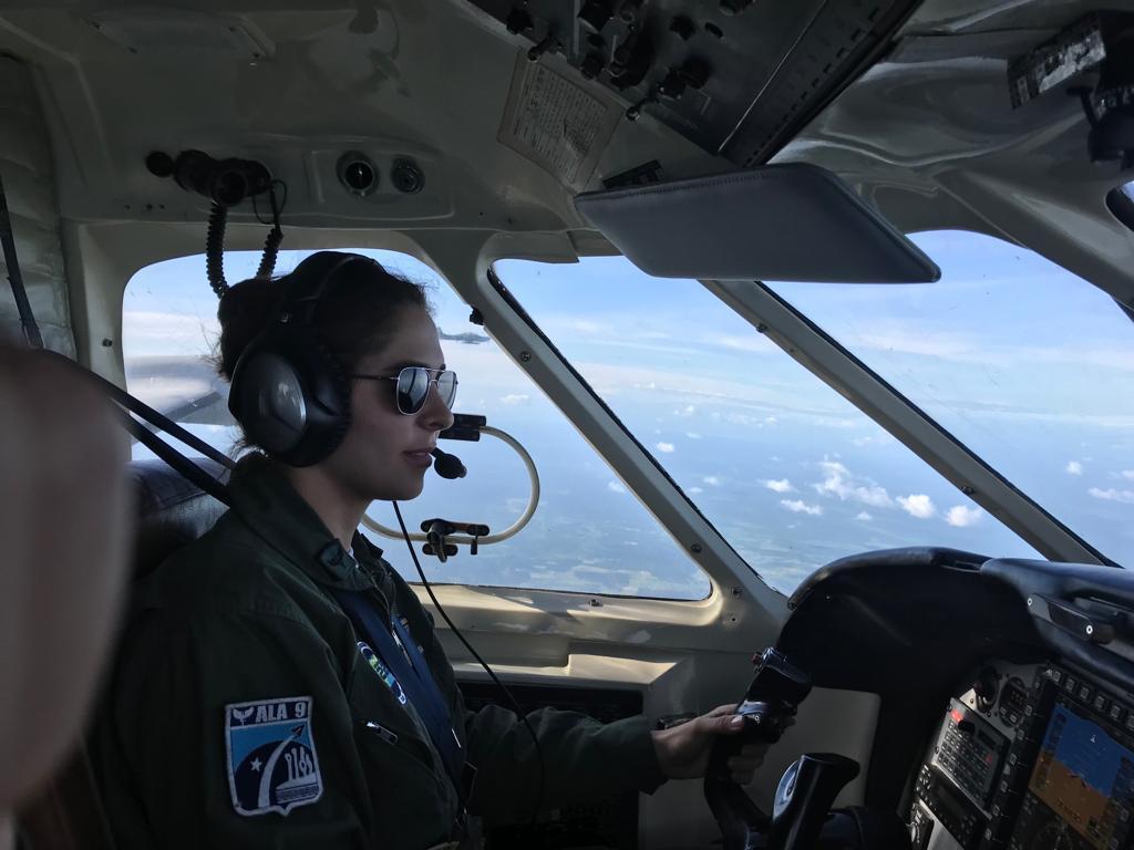 Esquadrão Netuno forma a Primeira Piloto de Patrulha do Brasil