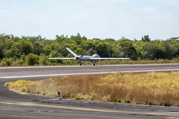 OPERAÇÃO SAMAÚMA - Sistema Aéreo Remotamente Pilotado combate desmatamento na Amazônia